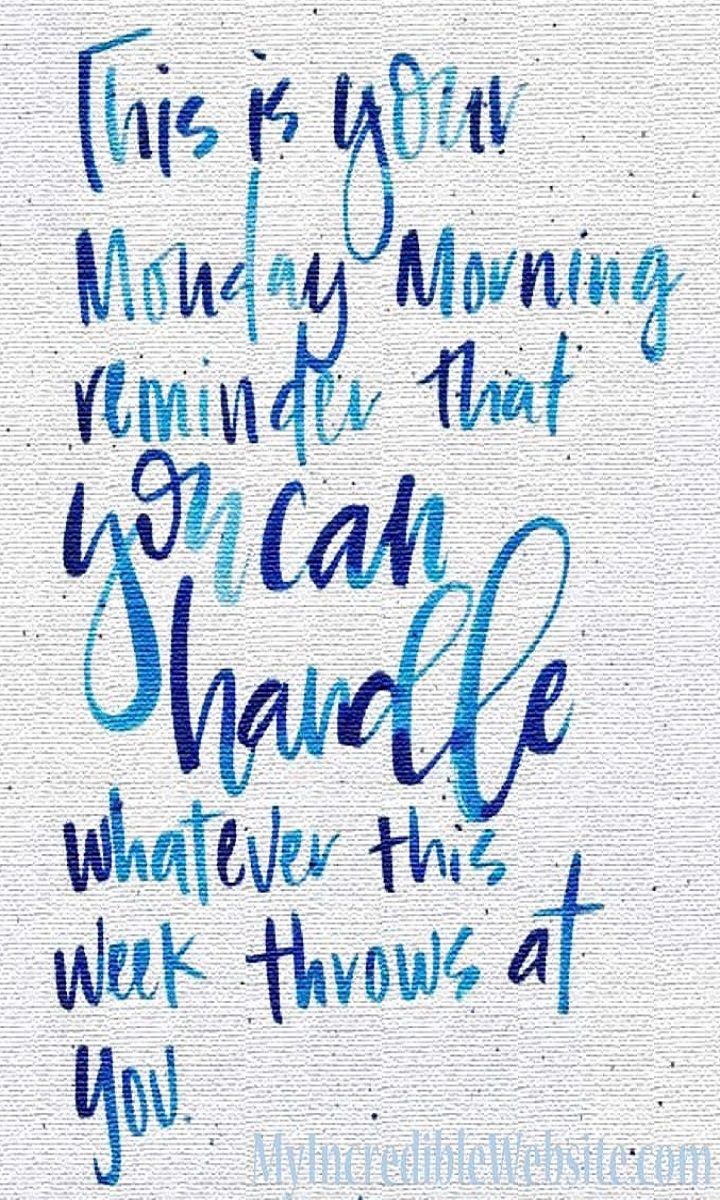 Positive Monday Morning Meme