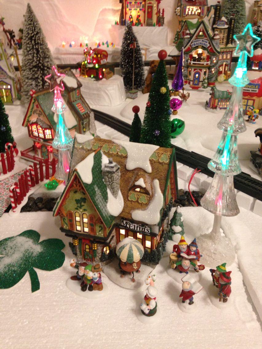 McElfin\'s Irish Pub - 2015 North Pole Christmas village | Christmas ...