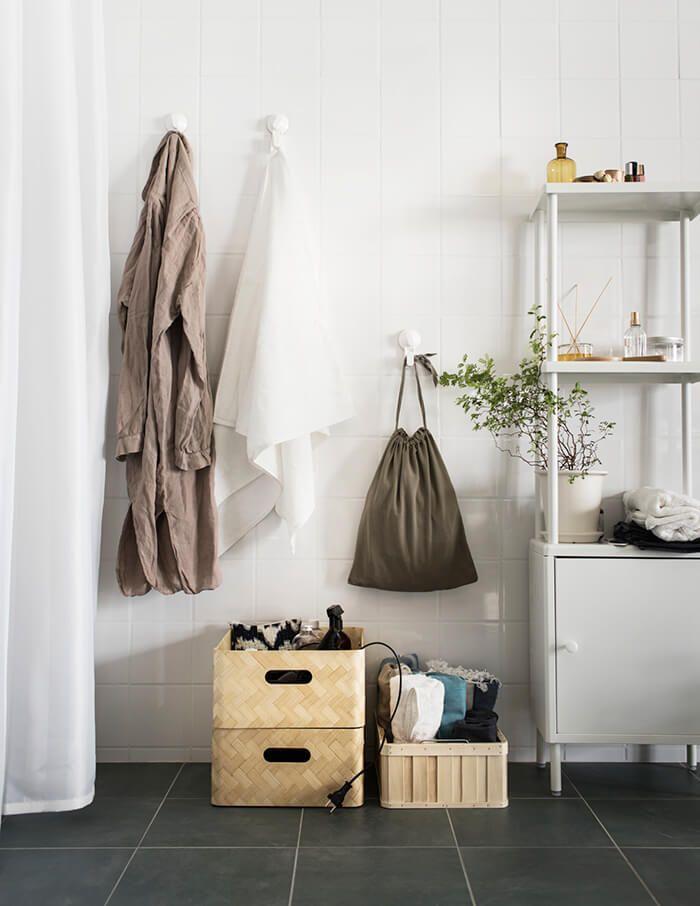 Zet een paar handige opbergers in de badkamer | IKEA IKEAnl ...