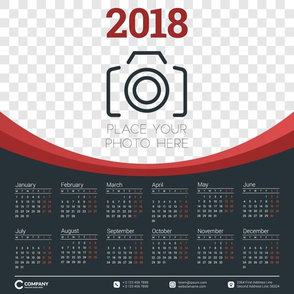 10 calendarios 2018-2019 para imprimir gratis | Layouts