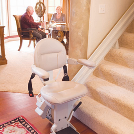 Stair Lift With Seat Adjustments Electric Stair Lift Indy Lux Stair Lift Chair Lift Lift Chairs