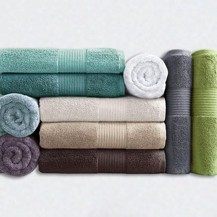 Wholehome Contemporary Tm Mc Loft Cotton Towel Sears Sears