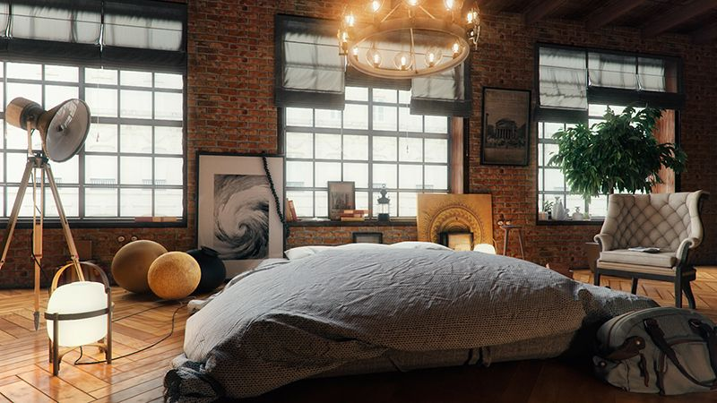 Style Bedroom Designs 22 Mind Blowing Loftstyle Bedroom Designs  Loft Style Lofts And