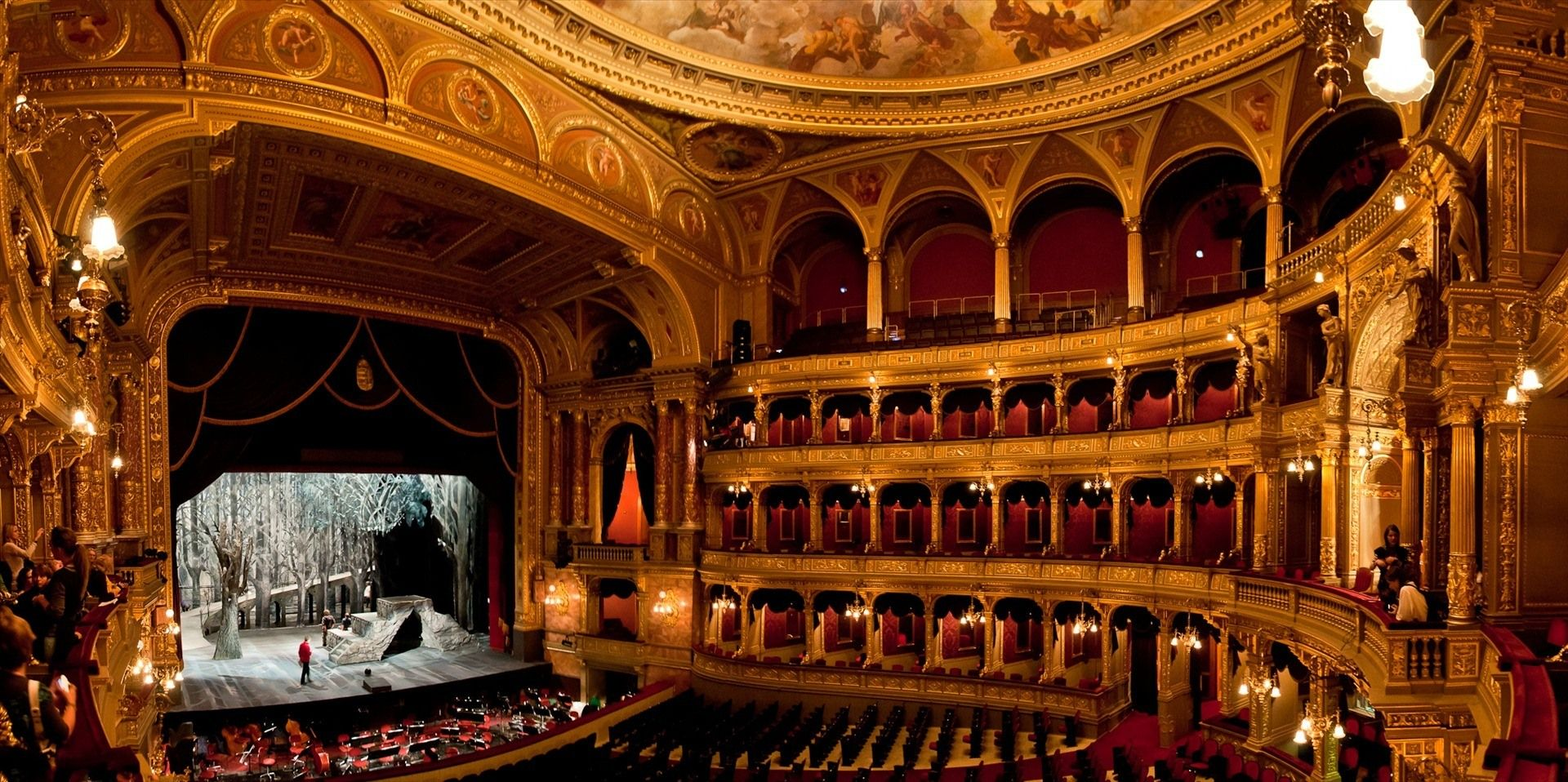 The Hungarian State Opera House is a Neo-Renaissance opera house located in central Pest | 12 ...