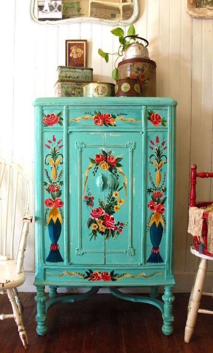 1001 id es meubles pinterest meubles peints relooking et deuxieme. Black Bedroom Furniture Sets. Home Design Ideas