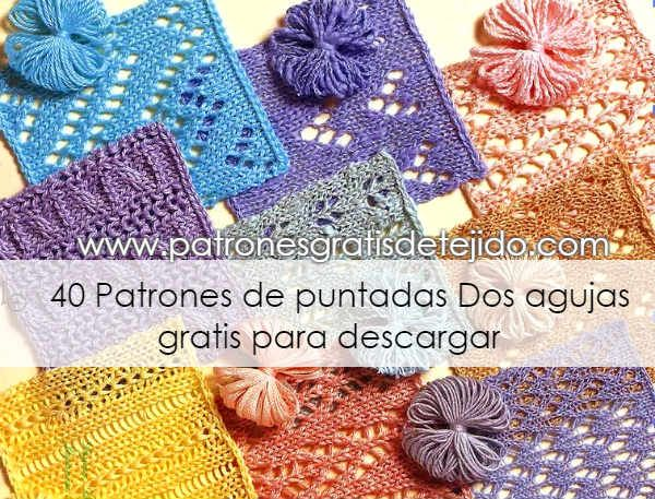 Crochet y Dos agujas - Patrones de tejido | Crochet y Dos Agujas ...