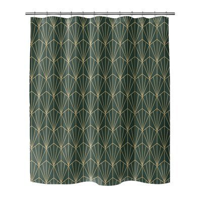 Bungalow Rose Yadiel Single Shower Curtain Size 90 H X 70 W