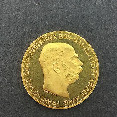 Goldmünze 100 Kronen C Coronae österreich Ungarn Kaiser Franz