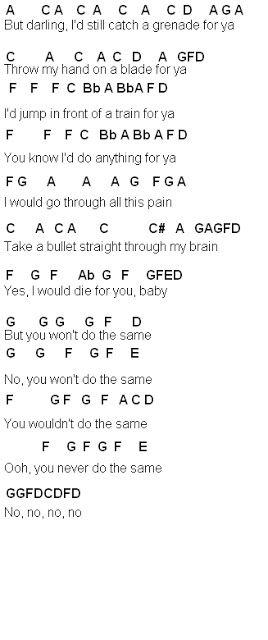 Flute Sheet Music: Grenade | Songs | Flute sheet music ...