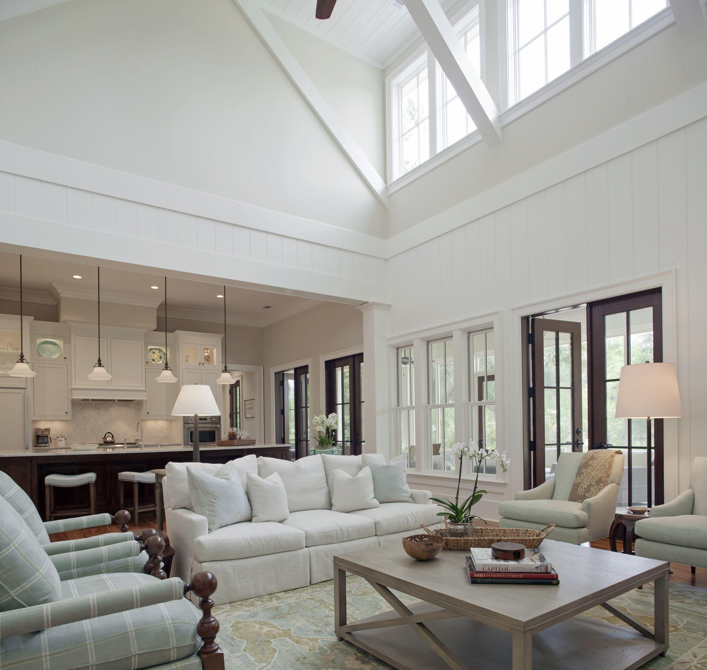 Palmetto Bluff Living Room: Pearce Scott Architects | New lake house ...