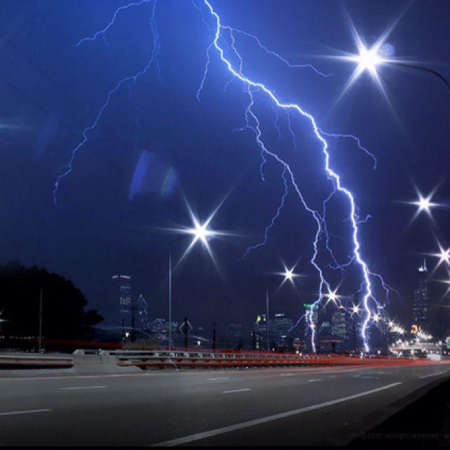 Weather: Lightning strike