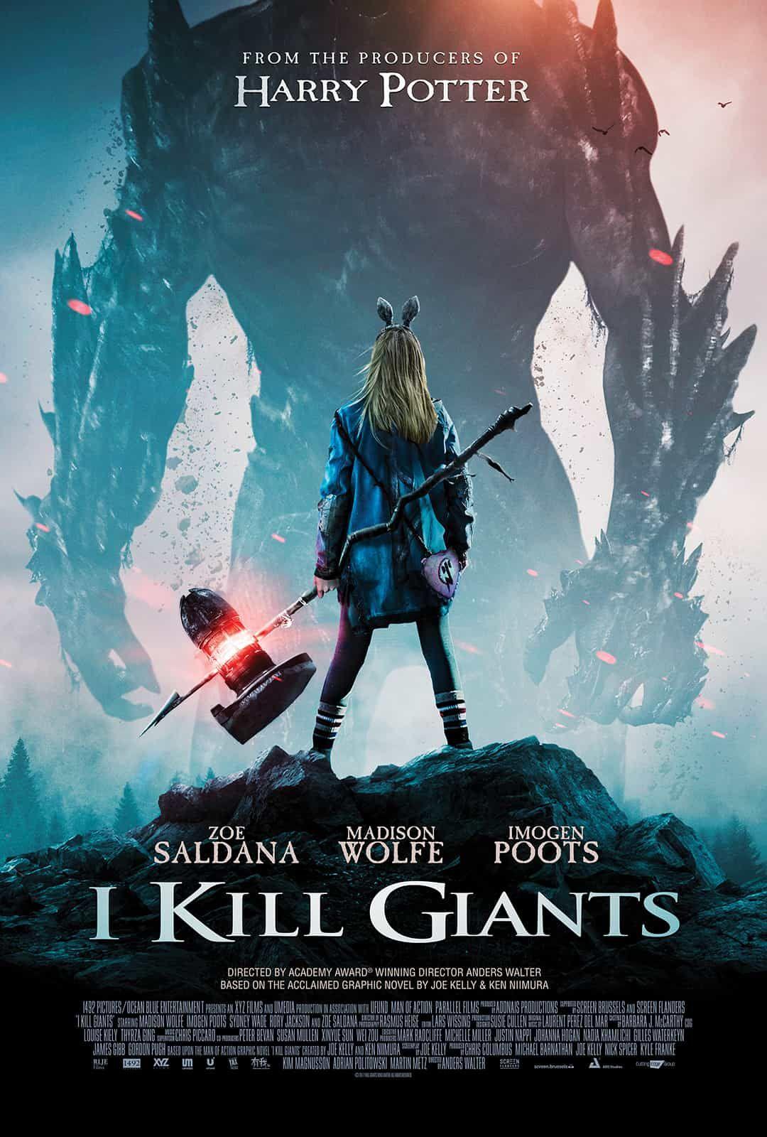 Eu Mato Gigantes Veja O Primeiro Poster E Trailer Da Adaptacao