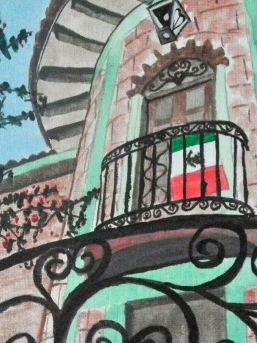 Watercolor Painting 'Pride' from SC Paintings and Photos