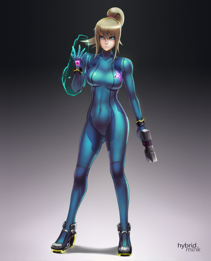 Sexy Zero Suit Samus Based On Her Smash Bros 3ds Wii U Appearance Metroid Wiiu