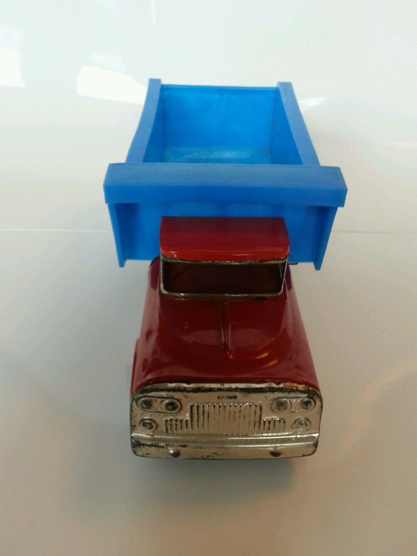 Antique tin toyJapanese Yone dump truck Boxed! Yonezawa marusan bandai | eBay