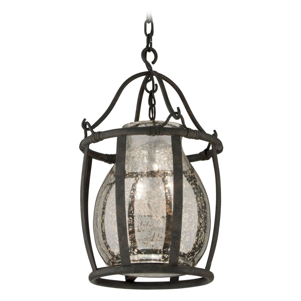 mercury glass pendant lighting. Pendant Light With Mercury Glass In Chianti Bronze Finish At Destination Lighting