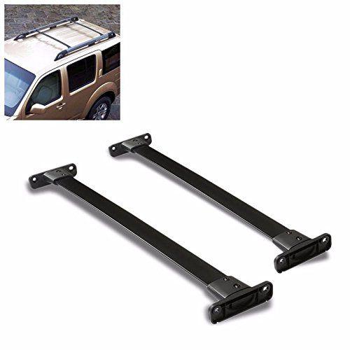 Black Coated Oe Style Aluminum Top Roof Rack Crossbar Rail For Nissan 05 12 Pathfinder Roof Rack Pathfinder Nissan