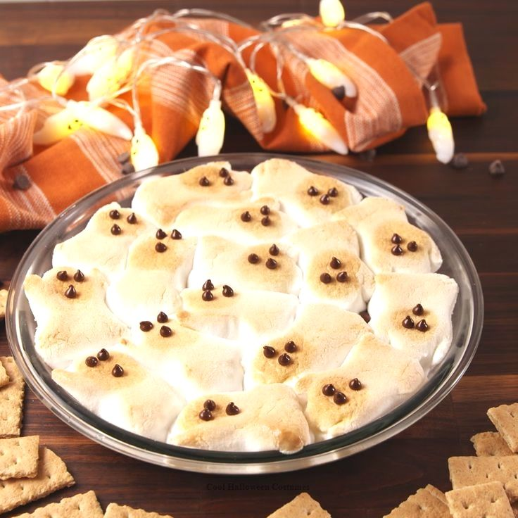 Ghost S'mores Dip5 minutes #repashalloween