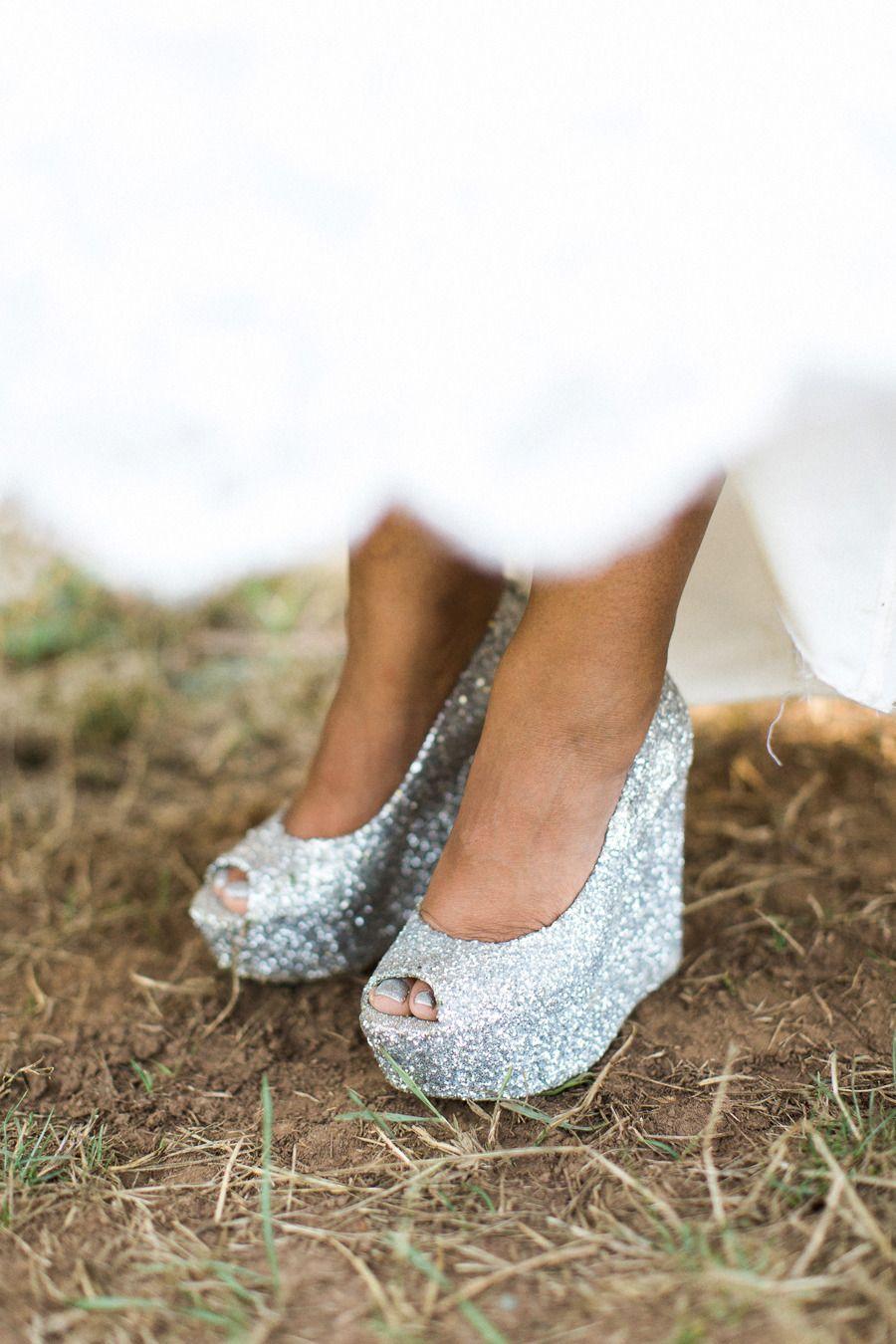 Diy Backyard Oregon Wedding Silver Wedding Shoes Wedding Shoes