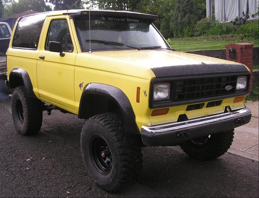 1986 Ford Bronco Ii Ford Bronco Ii Ford Bronco Bronco Ii