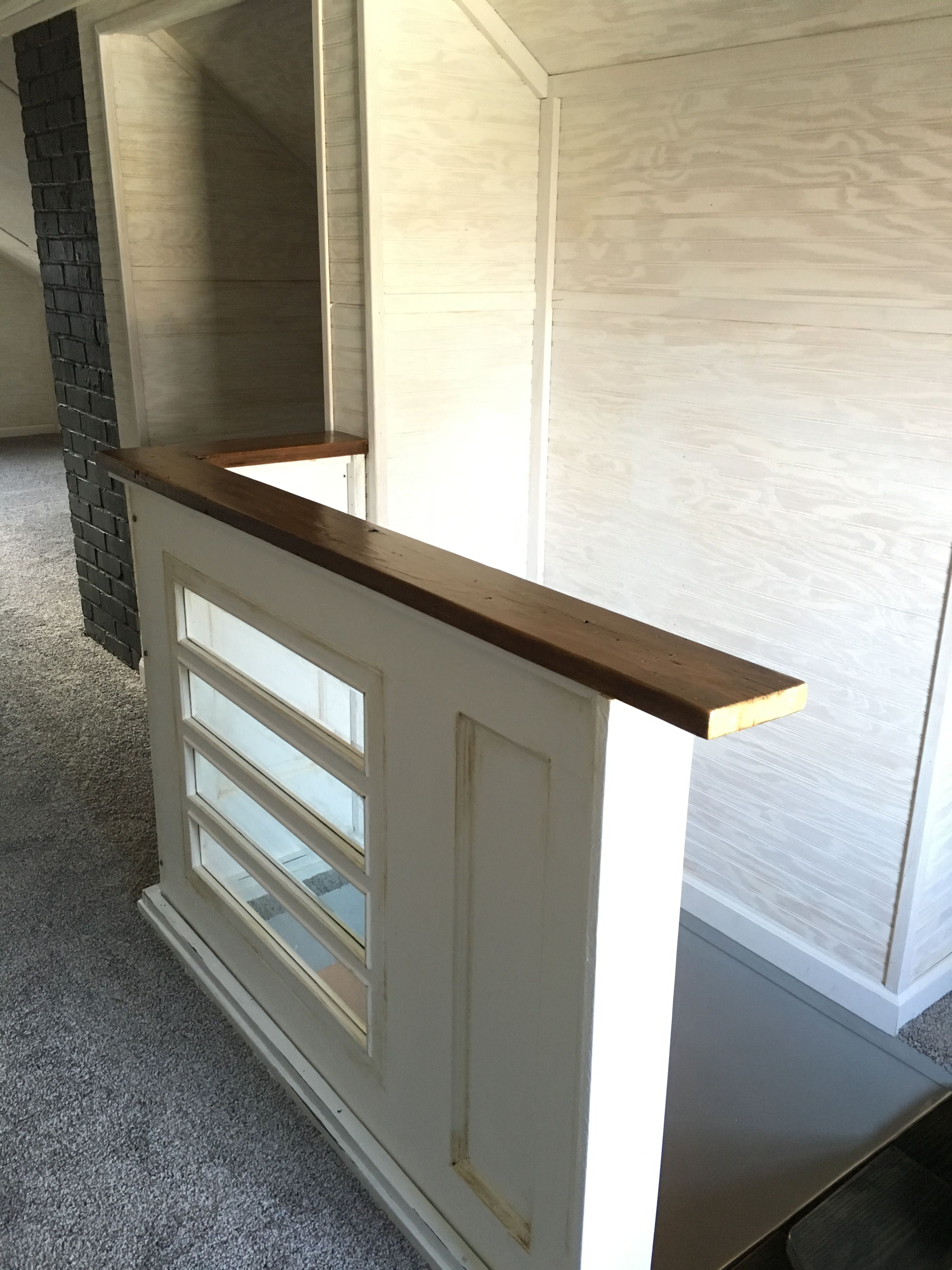 Best Repurposed Old Door Is Now A Removable Railing In An 400 x 300