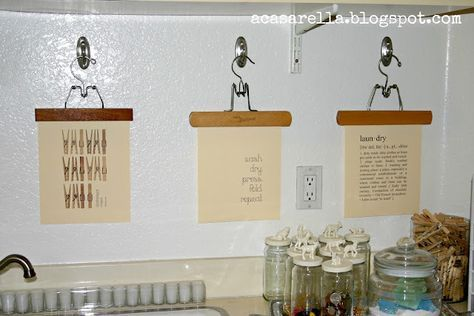 Room Diy Laundry Art