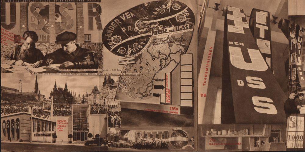 Union der Sozialistischen Sowjet-Republiken. Katalog des Sowjet-Pavillons auf der Internationalen Presse-Ausstellung Köln 1928 | El Lissitzky, M. Guss, P. Lakisa, A. Chalatow | First edition