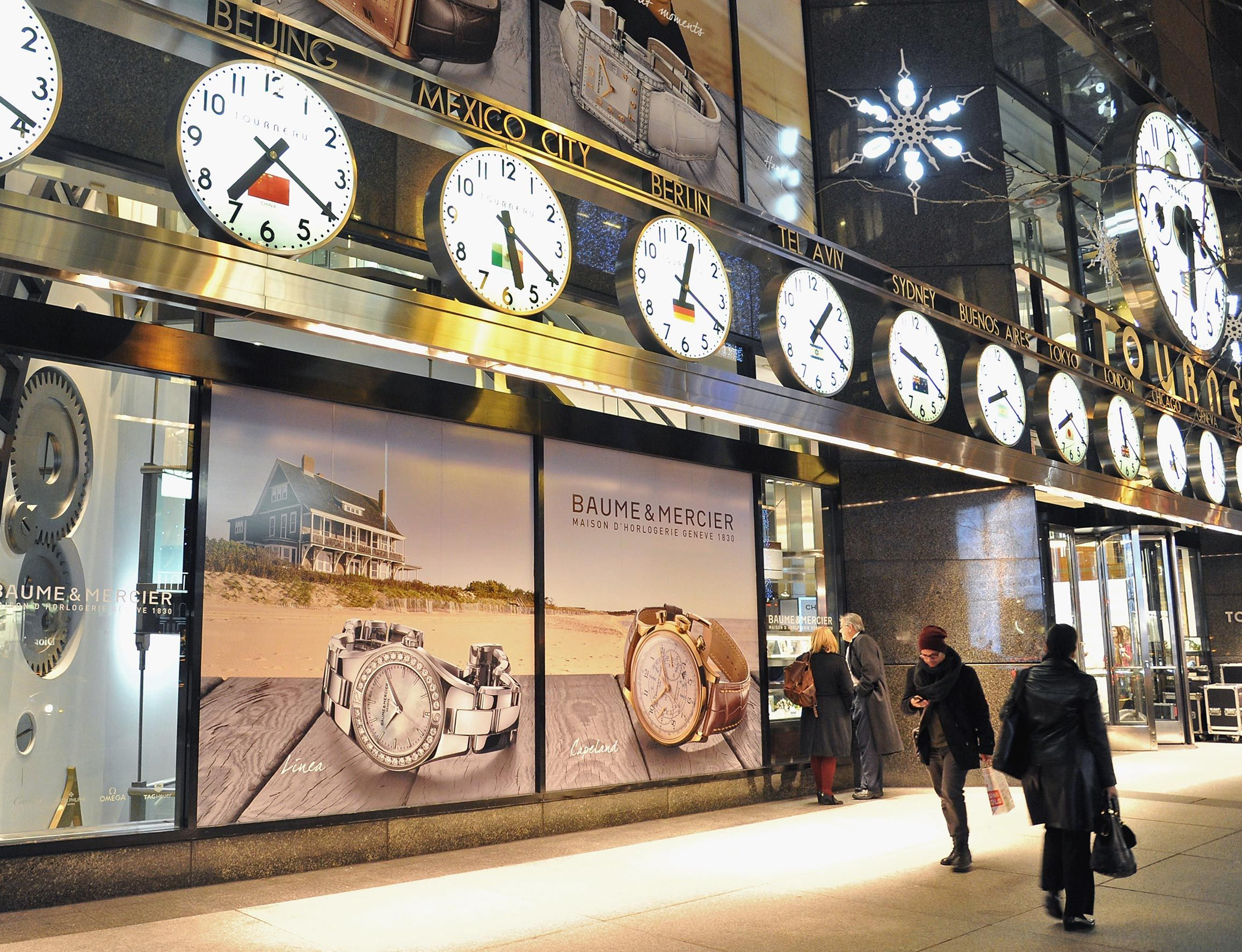 Last December, Baume & Mercier hosted a private event with