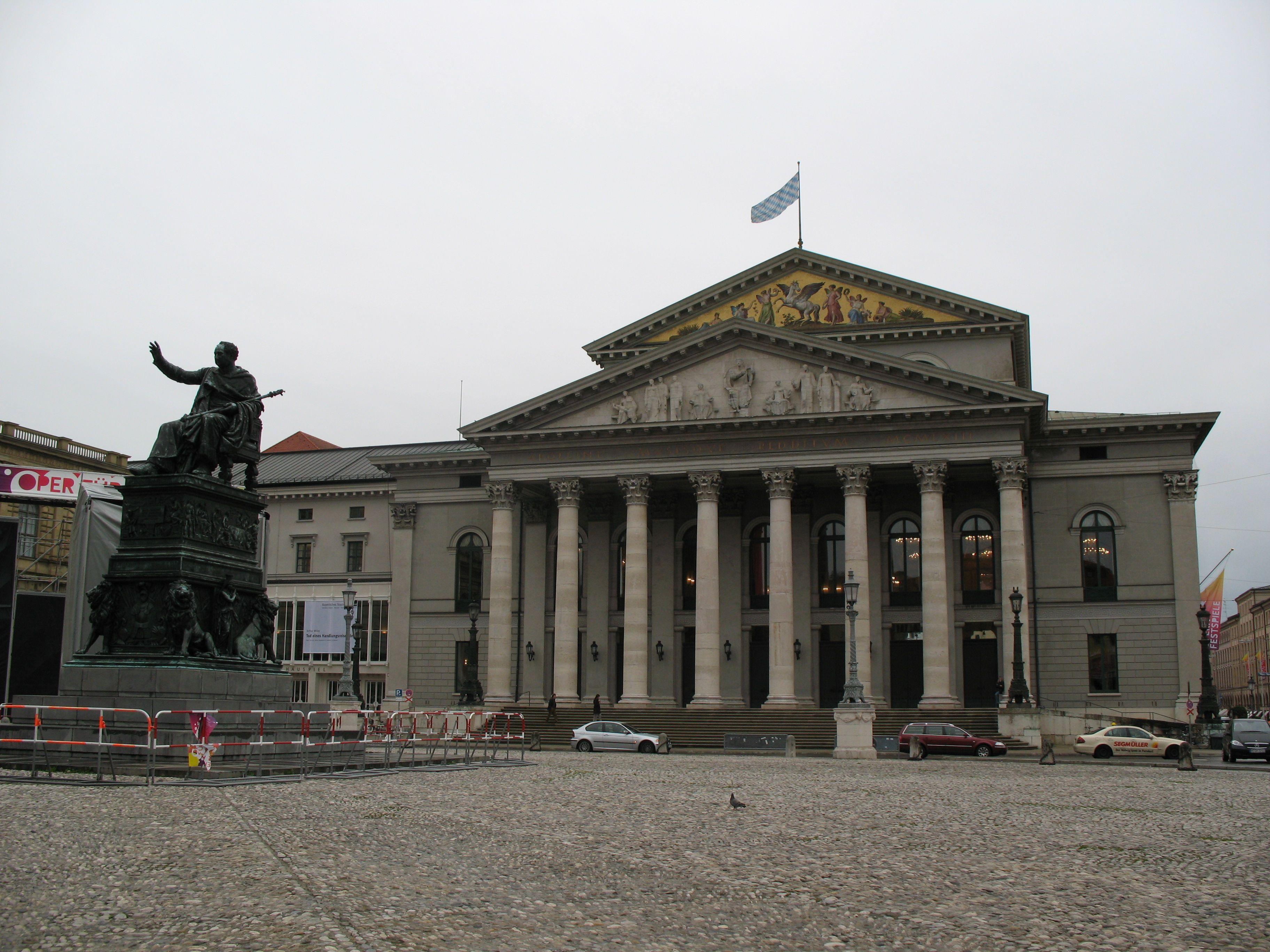 St Platz München max joseph platz munich germany münchen deutschland
