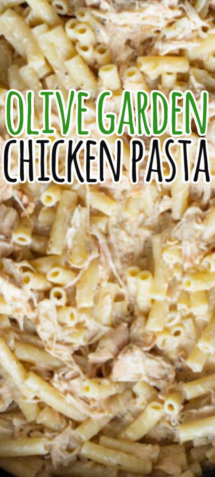 Olive Garden Chicken Pasta in 2020 Italian dressing