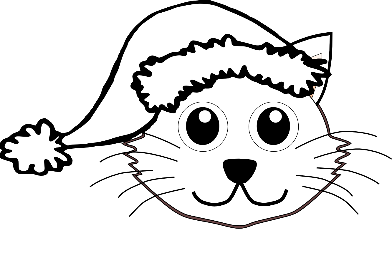 Cat Hat Coloring Pages Print Printable Sheet - Colorine.net | #9561 ...