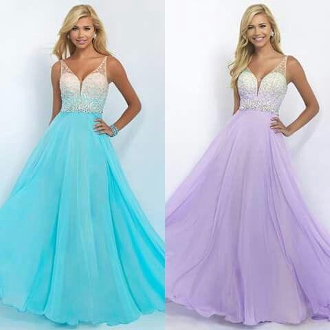 Sparkling prom dresses