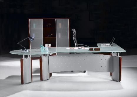 Attractive Home Office Glass Desk. Office Furniture Place Modern Glass Desks New York  Nyc Home Desk