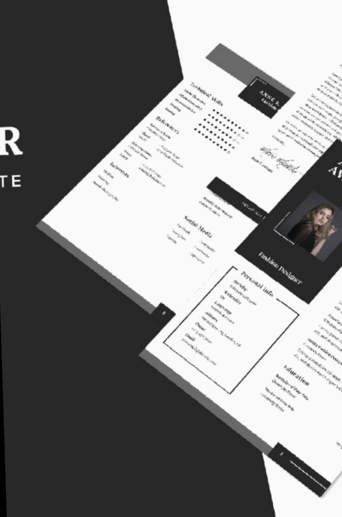 9 Fashion Design Resume Fresher In 2020 Resume Design Fashion Designer Resume Cv Template