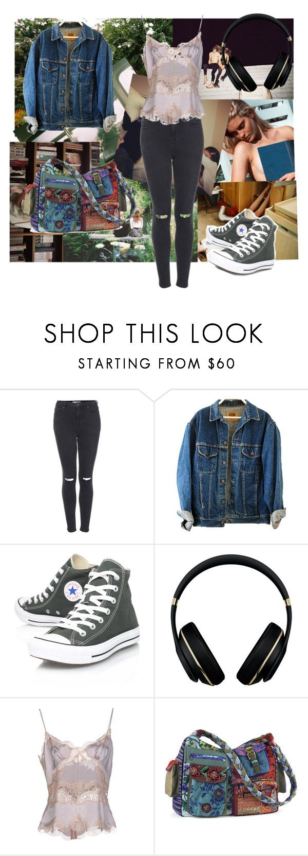 """""""Shh I don't care what you have to say"""" by antwings ❤ liked on Polyvore featuring Topshop, Converse, Alexander Wang, Dolce&Gabbana, women's clothing, women's fashion, women, female, woman and misses"""