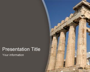 Free parthenon powerpoint template is a free greece powerpoint free parthenon powerpoint template is a free greece powerpoint template slide design with a nice photo toneelgroepblik Gallery