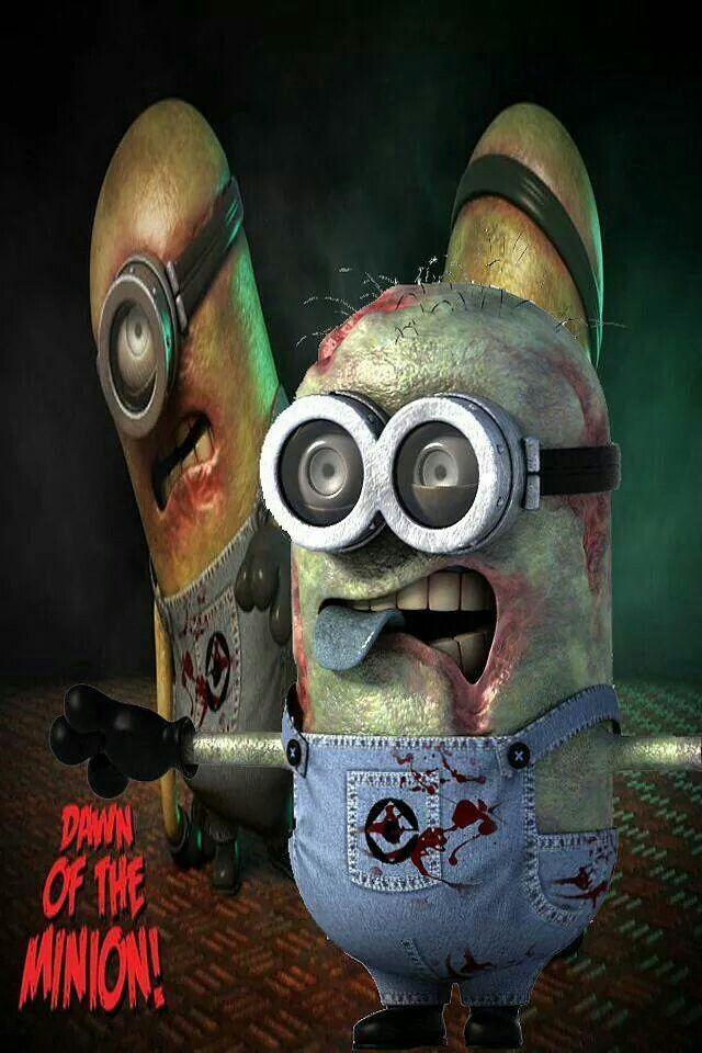 Zombie .. minion mischief . minion minios