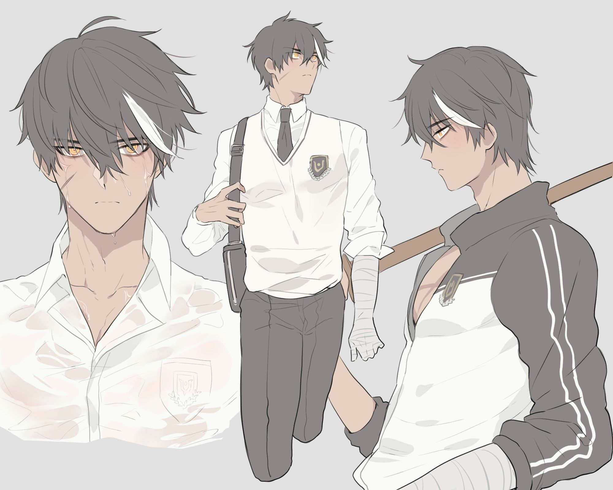 Pin By Malena Sue On Anime Art Cool Anime Guys Elsword Cartoon Character Design