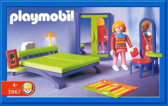 PLAYMOBIL set 3967 Modern Bedroom