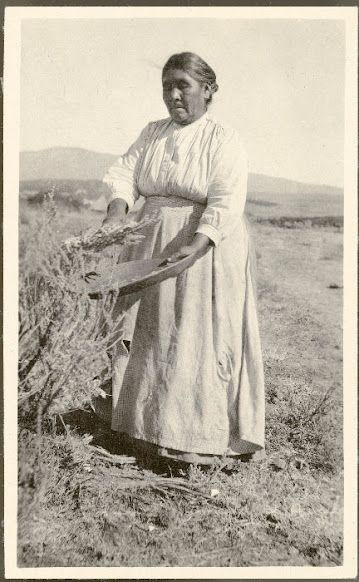 Ramona Lugo (the widow of Juan Diego) - Cahuilla - 1917