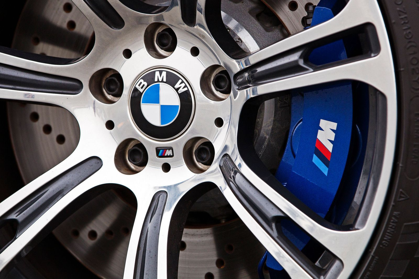 Bmw M Brake Caliper Decal Blue Calipers Bmw Bmw M6 Coupe Bmw M6
