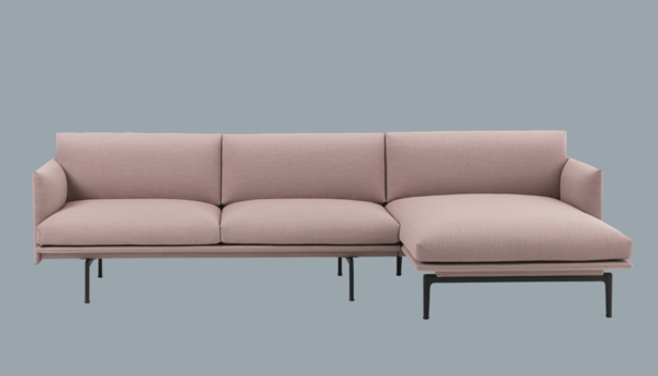 Outline Sofa Chaise Lounge By Muuto Seating Chaise Sofa Sofa