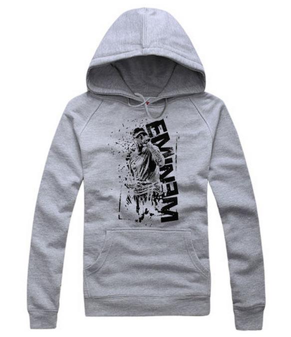 Eminem RAP photo rock Cotton hoodie sweater  c80068a24ad