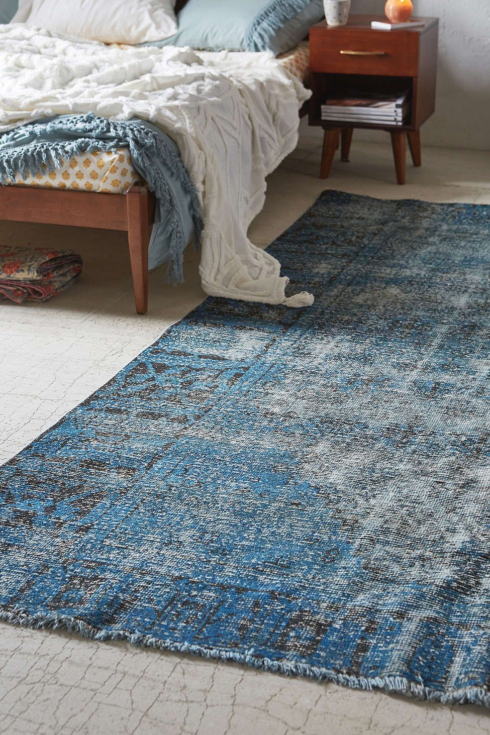 Vintage Henny 10x7 Rug - Urban Outfitters