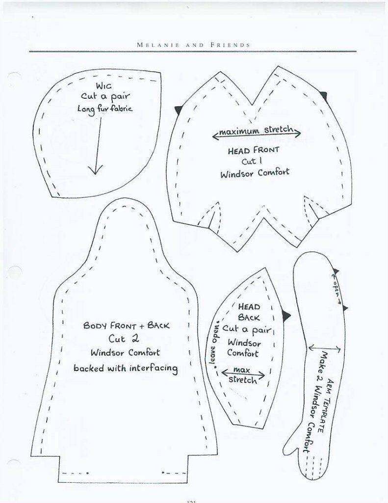Детсадовская малышня - 2 | Cloth Dolls | Costura, Patrones, Manualidades