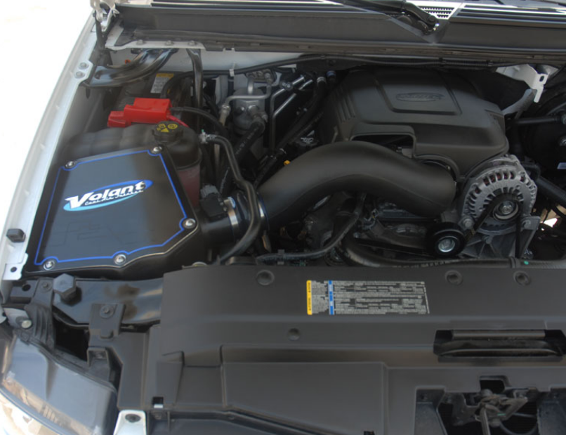 0914 GM 4.8, 5.3, 6.0, 6.2 Volant Cold Air Intake System
