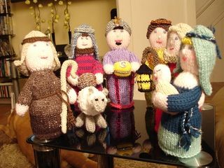Free Amigurumi Nativity Pattern : Ravelry knitted nativity scene pattern by australian women s
