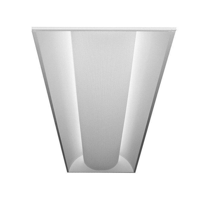 led recessed troffer light fixture