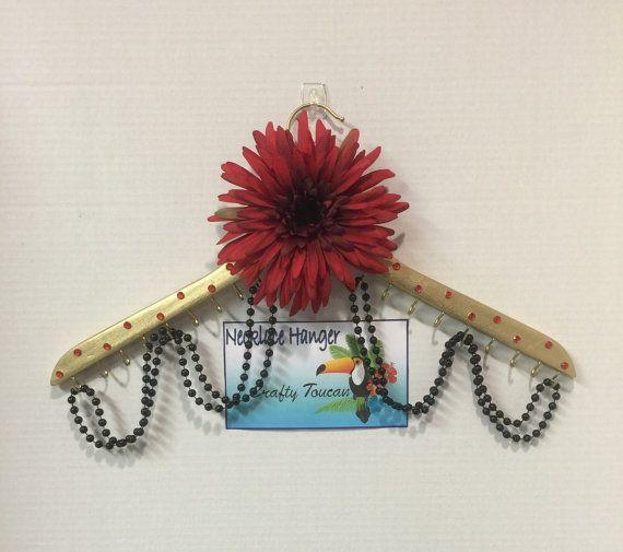 Flower Jewelry Hanger Jewelry Organizer Jewelry Display