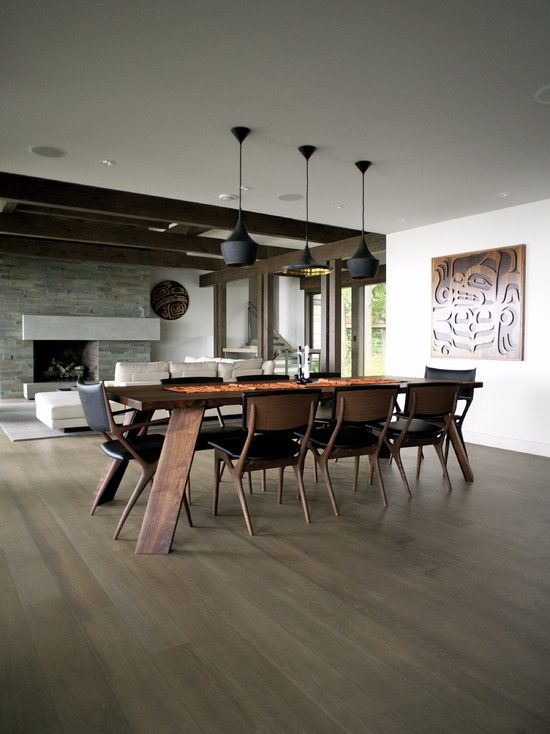 Contemporary Dining Room Mid Century Modern Design, Pictures, Remodel, Decor  And Ideas